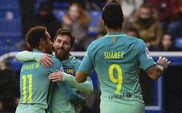 Kéo sập Mendizorrotza, Barcelona hiên ngang leo lên đỉnh La Liga