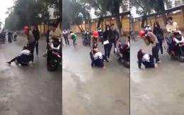 Phạt hành chính 2 thiếu nữ đánh đập nữ sinh lớp 10 trước cổng trường vì bị đòi nợ