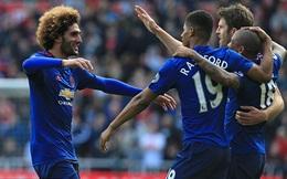 """Cặp đôi """"chân gỗ"""" thăng hoa, Man United thoát khỏi số 6 đầy ám ảnh"""