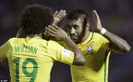 Giúp Brazil đại thắng, ngôi sao từ Trung Quốc làm lu mờ Neymar
