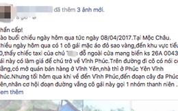 """Nữ phượt thủ quê Vĩnh Phúc bị tố """"quỵt"""" tiền taxi"""