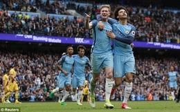 Chiến thắng đậm đà, Man City vô tình giúp Mourinho việc quan trọng