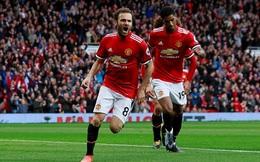 """Mourinho dùng bài """"chim mồi"""", Man United thắng Crystal Palace 4 bàn trắng"""