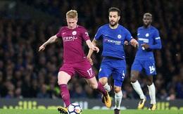 """Kéo sập """"pháo đài"""" của Chelsea, Man City hiên ngang đứng đầu Premier League"""