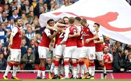 Thắng dễ tân binh, Arsenal bắt kịp đương kim vô địch Premier League