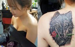 Bí mật đằng sau hình xăm sói xám trên lưng cô gái Đà Lạt