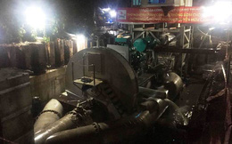 Siêu máy bơm tiếp tục giải cứu 'rốn ngập' ở Sài Gòn