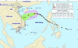 Bão số 13 có khả năng suy yếu thành áp thấp nhiệt đới