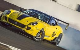 """""""Siêu ngựa"""" Ferrari 599 GTB Fiorano Drift đầu tiên trên thế giới"""