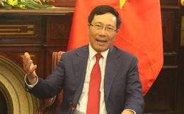 Phó Thủ tướng Phạm Bình Minh nói về việc Trung Quốc mở Tổng lãnh sự quán tại Đà Nẵng