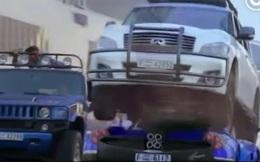 Thành Long run rẩy khi phá hỏng siêu xe của hoàng tử Dubai