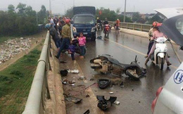 Vụ gia đình bị xe tải đâm rơi xuống cầu: Thêm cháu bé 4 tuổi tử vong