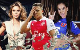 Alexis Sanchez nhấn chìm Arsenal giữa vòng xoáy tình, tiền