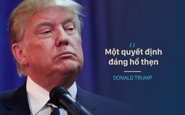 """Chỉ trích Tòa phúc thẩm, Trump dẫn """"nhầm"""" bài viết ủng hộ phán quyết chống lệnh nhập cư"""