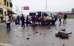 Hiện trường vụ xe tải đâm xe đón dâu, 3 người tử vong tại chỗ