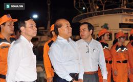 Thứ trưởng Bộ GTVT trực tiếp đón thuyền viên được cứu trong vụ chìm tàu
