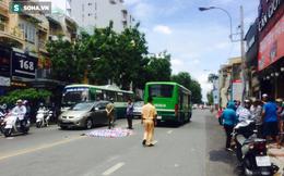 TP HCM: Ngã xuống từ xe ôm, người phụ nữ bị xe buýt cán tử vong
