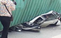 Sự xuất hiện của người phụ nữ gây bức xúc trong vụ tai nạn ở Nam Định