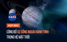 1h sáng 14/4, NASA họp báo công bố phát hiện mới nhất về sự sống ngoài hành tinh