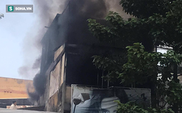 Cháy lớn tại ngôi nhà 3 tầng ở Sài Gòn