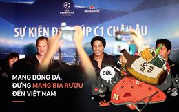 Mang bóng đá, đừng mang rượu bia đến Việt Nam, Ronaldinho!