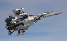 Hai siêu chiến đấu cơ Su-35 của Nga áp sát bờ biển Mỹ trong đêm