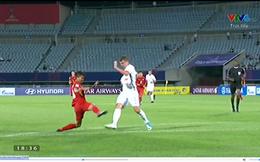 Tấn công dồn dập, U20 Việt Nam bất ngờ mất oan quả penalty