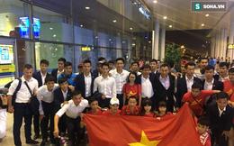 Thầy trò U20 Việt Nam về nước trong sự lạnh nhạt của người hâm mộ