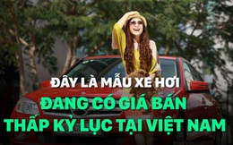 Đây là mẫu xe hơi đang có giá bán thấp kỷ lục tại Việt Nam