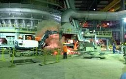 Nổ lớn trong đường ống hút bụi lò vôi tại Formosa