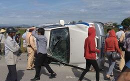 Người lái xe bỏ chạy 30km rồi chèn lật xe CSGT trên quốc lộ là ai?