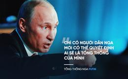 """Ông Putin trả lời câu hỏi """"Ai là Tổng thống kế tiếp của Nga?"""""""