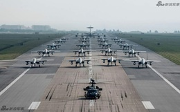 """Cảnh báo Triều Tiên - Không quân Mỹ cho F-15 diễu binh """"Voi đi bộ"""" trong tình hình nóng"""