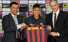 """Bực bội khi cha bị xúc phạm, Neymar """"vỗ thẳng mặt"""" Chủ tịch Barcelona"""
