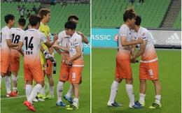 """""""Bỏ rơi"""" trên sân đấu, Gangwon lại tung hô Xuân Trường ngút trời trước truyền thông"""