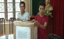 CA Lai Châu bắt 300.000 viên ma túy tổng hợp trong 2 thùng lớn