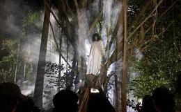 [Video] Cảnh tung lá cây, đốt lửa tạo khói gây cười ở hậu trường làm phim