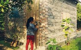 Ngôi nhà đặc biệt xây bằng 8.800 vỏ chai nhựa ở Hà Nội