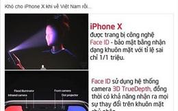 """IPhone X """"triệu người mong"""" trình làng và bi hài chuyện Face ID"""