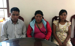 Cặp vợ chồng thuê taxi lừa 2 bé gái từ Nghệ An ra Móng Cái để bán