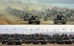 """Xe tăng Hàn Quốc """"khoe cơ bắp"""", thể hiện sức mạnh áp đảo Triều Tiên"""