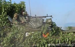 Hình ảnh diễn tập DT-17 của Việt Nam xuất hiện trên mạng Trung Quốc