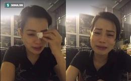 Vợ Xuân Bắc suy sụp, gầy sọp và khóc khi livestream