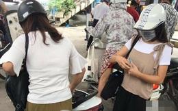 Hành động xấu xí gây bức xúc của 2 cô trái trẻ ở trạm xăng