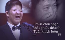 """Con trai Quốc Tuấn: """"Bôm là đàn ông, Bôm can đảm lắm"""""""