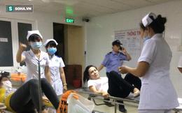 Ăn mì tôm, hàng chục công nhân phải nhập viện cấp cứu
