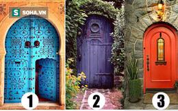 Nhìn vào hình ảnh này, bạn thấy cánh cửa nào dẫn đến hạnh phúc?