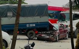 Hình ảnh vụ tai nạn ở Bắc Ninh khiến người chứng kiến hoảng hốt