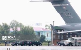 """Cadillac One The Beast cùng dàn xe phục vụ Tổng thống Trump tại APEC """"đổ bộ"""" Đà Nẵng"""