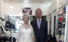 Dù đã 80 tuổi, nhưng cặp đôi Hải Phòng vẫn 'chịu chơi' khi tổ chức đám cưới kim cương